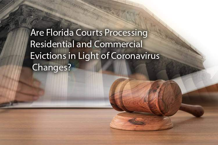 The Status of Evictions and The Florida Courts